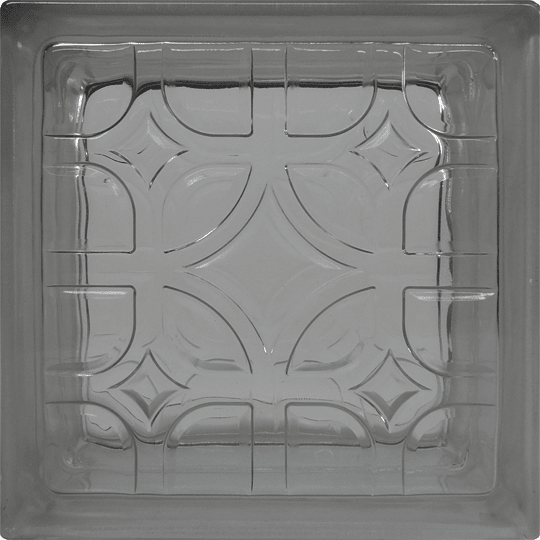 Block de Vidrio 19x19  Well Shape Clear