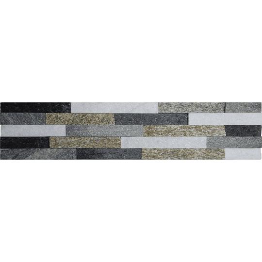 Piedra Natural 15x60  Cubre 0,72 m2