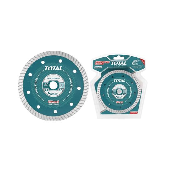 DISCO DIAMANTADO ULTRA FINO 7″ (180X22.2MM) TOTAL TAC2131801HT