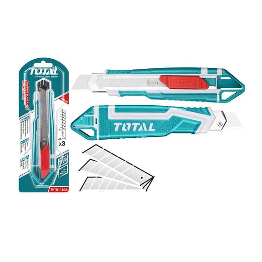 Cuchillo Cartonero 169mm TOTAL THT511836