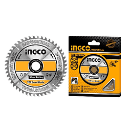 """Disco de Corte madera 4 1/2""""  40Dientes INGCO Tsb111555"""