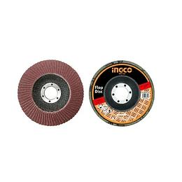 Disco Flap Grano N°40 115mm 4 1/2 Pulgadas Ingco Fd1151