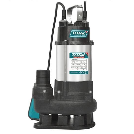 Bomba Sumergible Para Aguas Residuales 700W 1Hp Total TWP77501