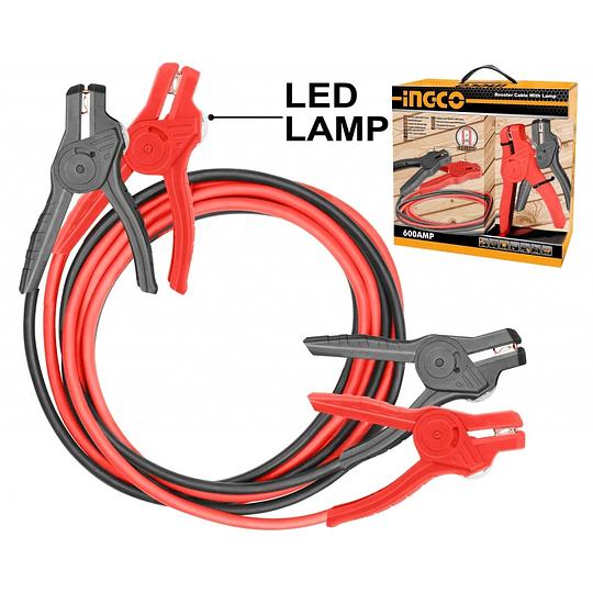 Cable de Partida con Indicador LED 600AMP INGCO HBTCP6008L