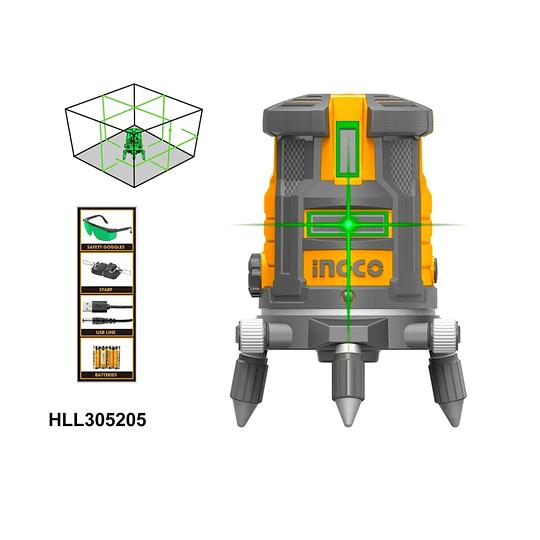 NIVEL LASER AUTONIVELANTE INGCO HLL305205 + HLLT01152