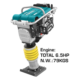 APISONADOR DE GASOLINA 79KG 6.5HP TOTAL TP880-2
