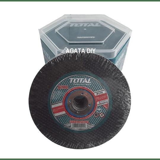 PACK 50UN DISCO DE CORTE METAL 105MM  TOTAL TAC22110550