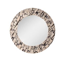 Espejo redondo decorado 71cm de diametro