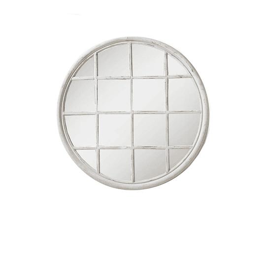 Espejo redondo decorado 90cm de diametro
