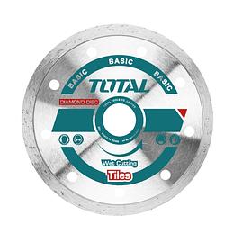 Disco Diamantado Húmedo 115(4-1/2 )x22mm Industrial Total TAC2121153