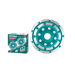 "Disco Pulir Turbo 4-1/2"" (115Mm) 18 Dientes Total Tools TAC2421151"