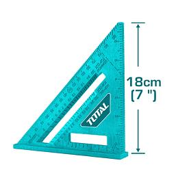 ESCUADRA ESQUINERA 18CM TOTAL TMT61201