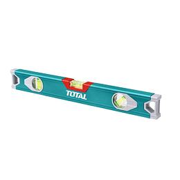 NIVEL DE ALUMINIO 3 AGUAS 80 CM INDUSTRIAL TOTAL TOOLS TMT28016