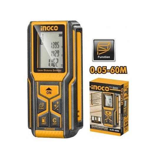 Medidor Laser de Distancias INGCO HLDD0608