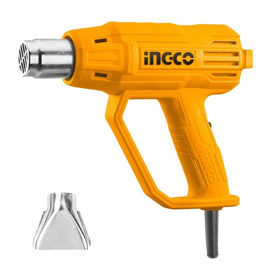 Pistola De Calor 2000W PROFESIONAL TRES NIVELES INGCO HG200038