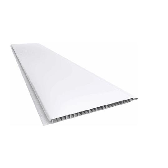 CIELO PVC MATTE WHITE 595X30CM  6 PALMETAS 10.71 M2 BLANCO MATTE