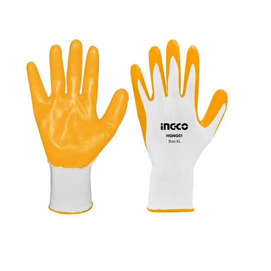 GUANTES DE NITRILO INGCO HGNG01