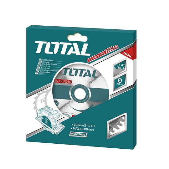 Disco de sierra TCT TOTAL 235mm TAC231623