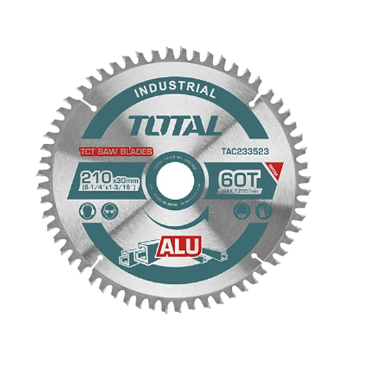 Disco de sierra TCT TOTAL 210MM TAC233523