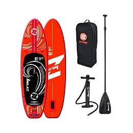 "STAND UP PADDLE INFLABLE 9"" ZRAY E9 NARANJO"