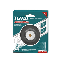 RESPALDO PULIDORA 180MM TOTAL TOOLS TAC7111801