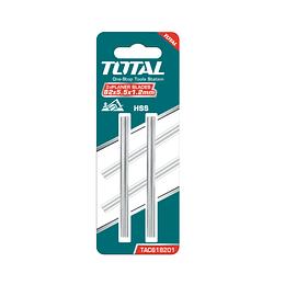 Set hojas para cepillo eléctrico HSS 2pzas TOTAL TAC618201