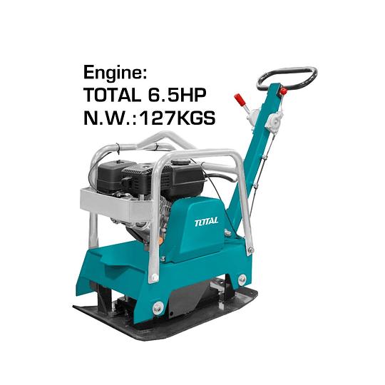 Placa Compactadora a Gasolina Motor 6.5HP TOTAL TP7125-2