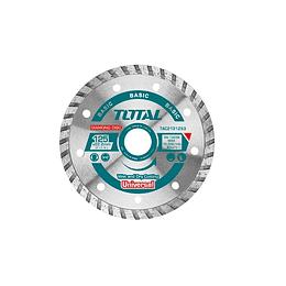 Disco de corte diamantado para amoladora 125mm Total TAC2131253