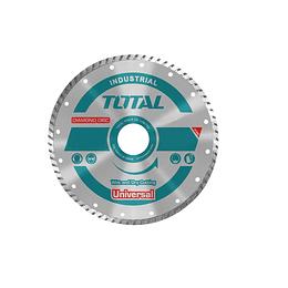 "DISCO DIAMANTADO TURBO 7"" (180X22MM) TOTAL TOOLS TAC2131803"