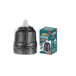 Mandril para taladro plastico 10MM TOTAL TAC451016