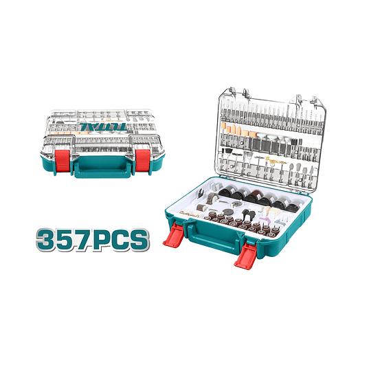 Set accesorios herramientas multiuso DREMEL 357 PZAS TOTAL TACSD13571