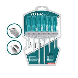 Set destornilladores 6pzas TOTAL THTDC250601