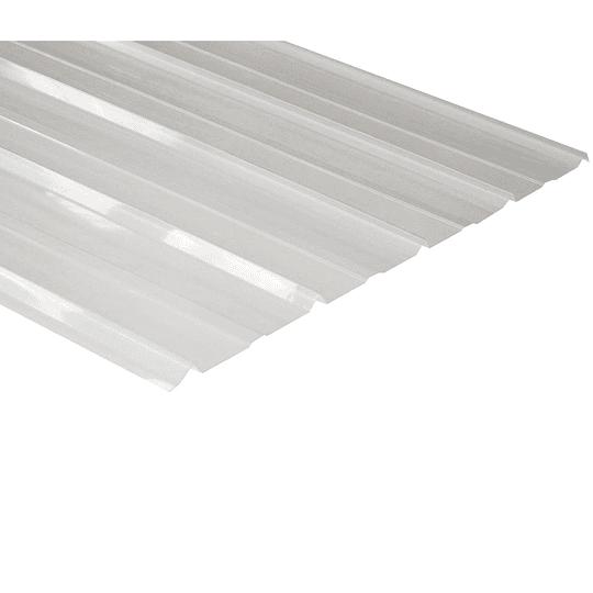 Calamina Transparente 5 en V   840 x 3000 mm