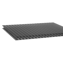 Policarbonato Alveolar 10mm  2.10m x 5.80m Bronce Cod: PLP10BRONZE