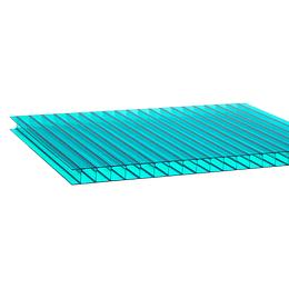 Policarbonato Alveolar 10mm  2.10m x 5.80m  Gris Cod: PLP10-GR