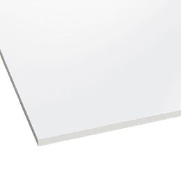 Policarbonato Solido 3mm  2.10m x 3.00m  Blanco  Cod: PLPSO03WH