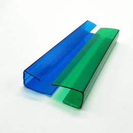 Cubrezócalo 10mm Verde 6mtr de Largo