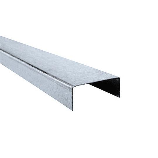 Perfil U Estructural 2X4X0,85mm 92X30X0,85mm 6mtl