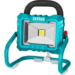 Lámpara de trabajo inalámbrica Litio-ion 20V TOTAL No incluye: Batería ni cargador.