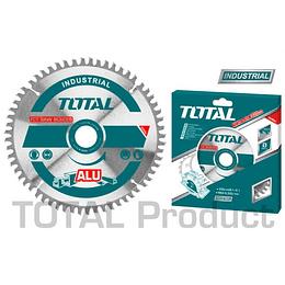 "Disco de sierra corte aluminio 10"" (254MMX100D) TOTAL TAC2337210"