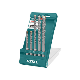 SET BROCAS SDS PLUS 5 PIEZAS TOTAL TOOLS TAC190501