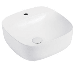 Lavamano de Sobre Cubierta 415x415x155mm Cod:163B