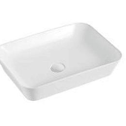 Lavamano de Sobre Cubierta 550x400x110mm Cod:T21MA