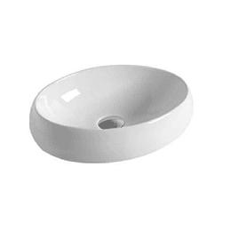 Lavamano de Sobre Cubierta 490x340x145mm Cod:202
