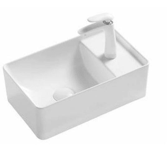 Lavamano de Sobre Cubierta 430x265x130mm Cod:T36