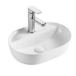 Lavamano de Sobre Cubierta 425x305x120mm Cod:338F
