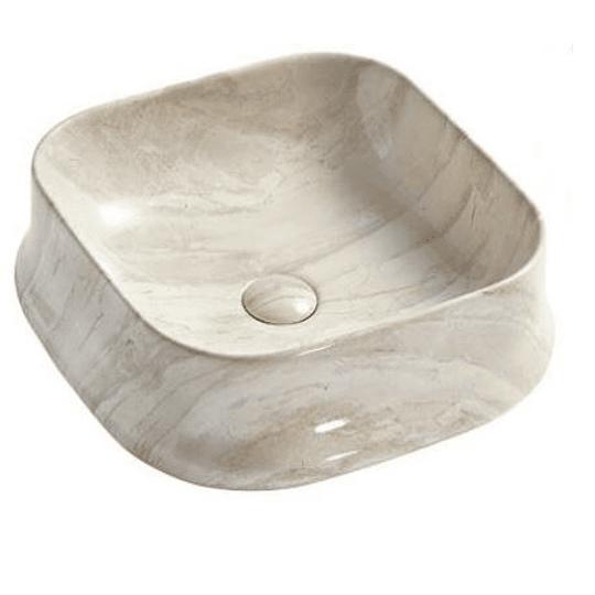 Lavamano de Sobre Cubierta 460x460x135mm Cod:267MB013