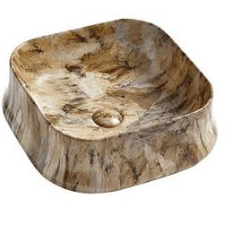 Lavamano de Sobre Cubierta 460x460x135mm Cod:267MB014