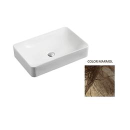 Lavamano de Sobre Cubierta 600x400x120mm Cod:130MB015