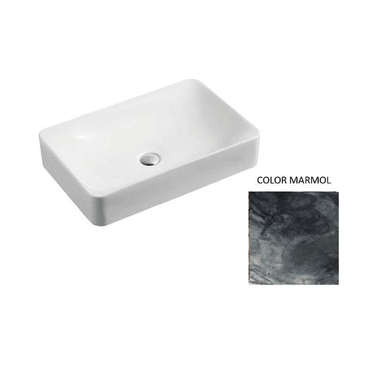 Lavamano de Sobre Cubierta 600x400x120mm Cod:130MB016